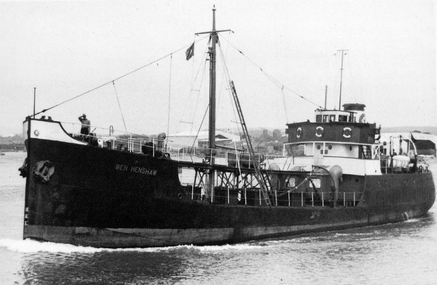 Ben Henshaw - sister ship
