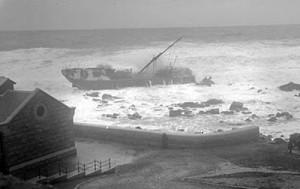 G H Koch ashore